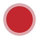 Teste padrão decorativo decorativo do quadro do estilo grego Ornamento grego Bloco antigo do quadro do vetor Testes padrões do el Fotografia de Stock
