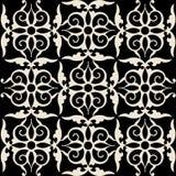 Teste padrão decorativo do arabesque Fotografia de Stock