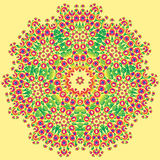 Teste padrão decorativo do arco-íris ilustração do vetor