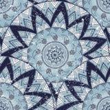 Teste padrão decorativo do círculo Imagens de Stock Royalty Free