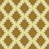 Teste padrão decorativo do vintage Imagens de Stock