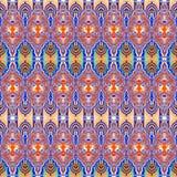 Teste padrão decorativo em cores bonitas Foto de Stock