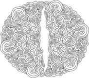 Teste padrão decorativo em de estilo celta Imagem de Stock Royalty Free