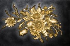 Teste padrão decorativo floral Fotografia de Stock Royalty Free