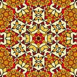 Teste padrão decorativo infinito Arte oriental sem emenda Imagens de Stock Royalty Free