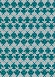 Teste padrão decorativo no celadon ilustração do vetor