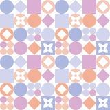 Teste padrão decorativo para o fundo, a telha e as matérias têxteis fotografia de stock royalty free