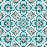 Teste padrão decorativo para o fundo, a telha e as matérias têxteis fotos de stock