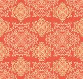 Teste padrão decorativo sem emenda Imagens de Stock Royalty Free