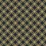 Teste padrão decorativo sem emenda abstrato do quatrefoil fotografia de stock royalty free