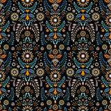 Teste padrão 08 Teste padrão decorativo stylization Imagem de Stock