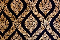 Teste padrão decorativo tailandês Fotografia de Stock Royalty Free