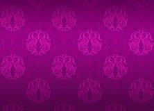 Teste padrão decorativo violeta luxuoso ilustração do vetor