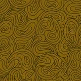 Teste padrão desenhado à mão abstrato sem emenda colorido Fotografia de Stock