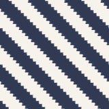 Teste padrão diagonal pixelated sem emenda das listras Imagens de Stock