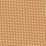 Teste padrão diagonal retro Fotografia de Stock Royalty Free