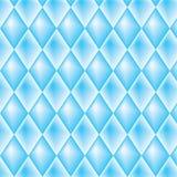 Teste padrão diamond-shaped azul Fotos de Stock