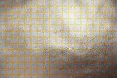 Teste padrão dinâmico abstrato moderno da textura dourado e de prata ilustração do vetor