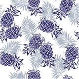 Teste padrão do abacaxi Imagens de Stock