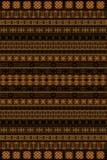 Teste padrão do africano de Brown Foto de Stock