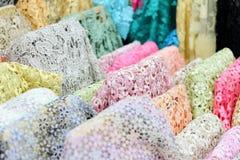 Teste padrão do algodão Fotografia de Stock
