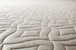 Teste padrão do algodão no colchão Foto de Stock Royalty Free