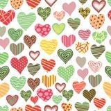 Teste padrão do amor Fotos de Stock Royalty Free