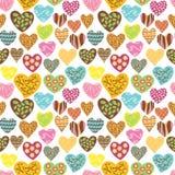 Teste padrão do amor Imagens de Stock