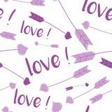 Teste padrão do amor Imagem de Stock Royalty Free