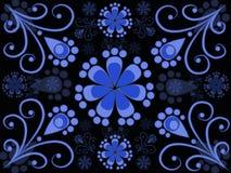 Teste padrão do arabesco Foto de Stock Royalty Free