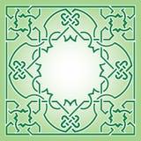 Teste padrão do Arabesque Imagens de Stock Royalty Free
