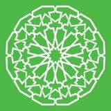 Teste padrão do Arabesque Fotografia de Stock Royalty Free