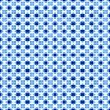 Teste padrão do azul de Swedisch Imagens de Stock