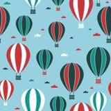 Teste padrão do balão de ar quente Imagens de Stock