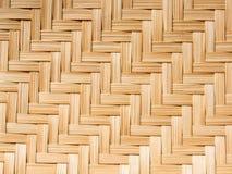 Teste padrão do bambu Foto de Stock