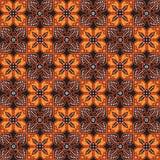 Teste padrão do Batik Fotos de Stock Royalty Free