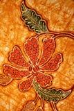 Teste padrão do Batik Fotografia de Stock