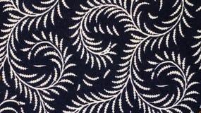 Teste padrão do Batik, Indonésia Fotografia de Stock