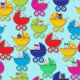 Teste padrão do bebê Imagem de Stock Royalty Free