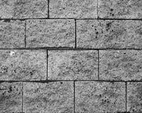 Teste padrão do bloco de cimento Foto de Stock