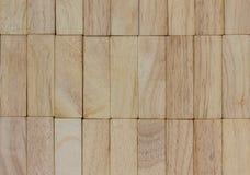 teste padrão do bloco de madeira Imagem de Stock