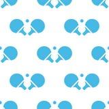 Teste padrão do branco do tênis de mesa Fotos de Stock Royalty Free
