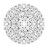Teste padrão do círculo ilustração stock