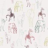 Teste padrão do cavalo Imagens de Stock