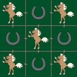 Teste padrão do cavalo do Palomino Fotografia de Stock