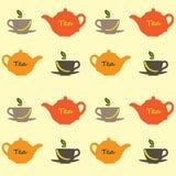 Teste padrão do chá Foto de Stock