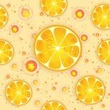 Teste padrão do citrino Foto de Stock