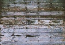 Teste padrão do close up da tabela de madeira de madeira f do vintage da folhosa da teca velha Imagens de Stock