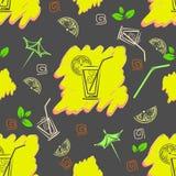 Teste padrão do cocktail Imagem de Stock Royalty Free