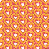 Teste padrão do coração Imagens de Stock